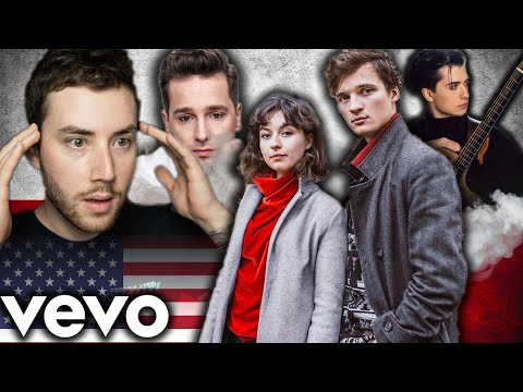 American Reacts to Polish Music 2021!