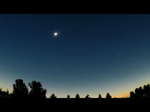 Chasing the total solar eclipse Part 10 Totality Rigby Idaho 2017
