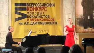 Дарья Ларина сопрано 13 лет Польская народная песня Шла девица по лесочку