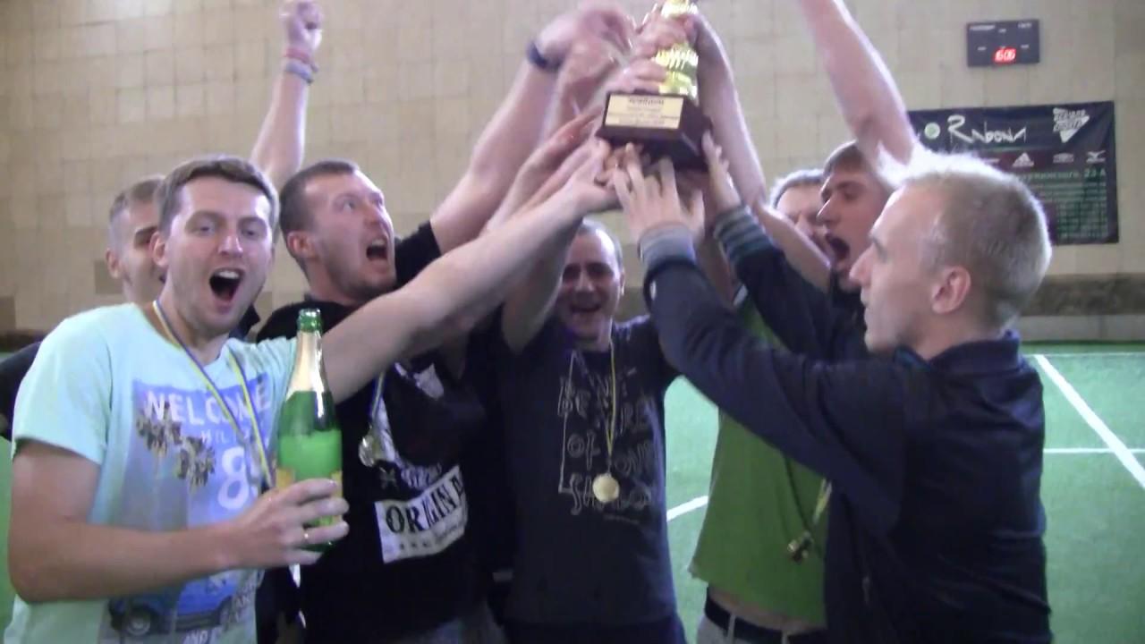 Награждение призеров Футзальной IT-лиги Днепра