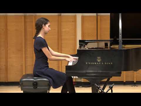 Mia Bramel, piano - 2018 Henry Schneider Young Virtuosos Concert
