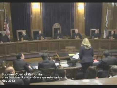 In Re Stephen Glass: Oral Arguments
