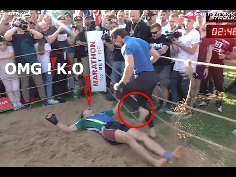 A Rugby Player Vs Boxing World Champion    Knockout Punch