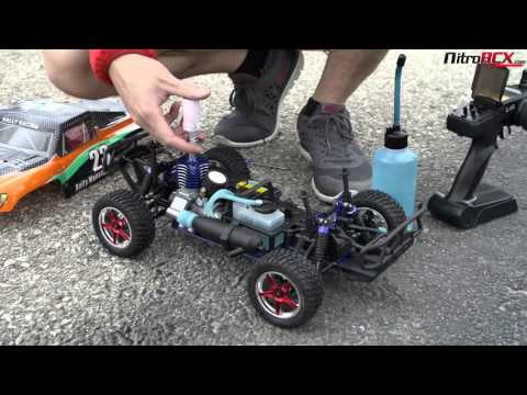 Exceed RC Nitro Gas Powered Rally Monster Truck Overview/Action