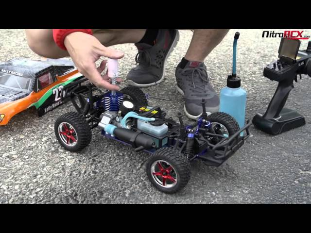Exceed Rc Nitro Gas Powered Rally Monster Truck Overview Action Youtube