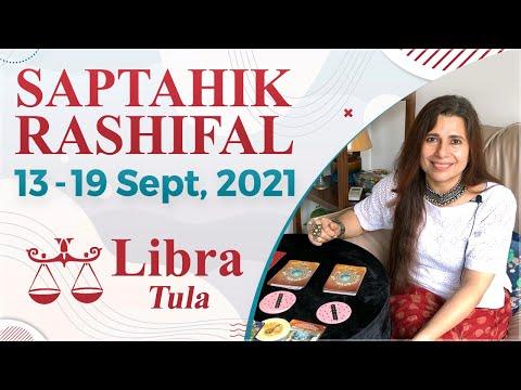 Libra (Tula) Saptahik Rashifal   13 - 19 Sep 2021   तुला राशि साप्ताहिक राशिफल   Weekly Tarot