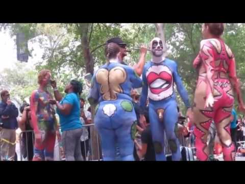 World Body painting Festiva | Annual Bodypainting Day 2017 #5