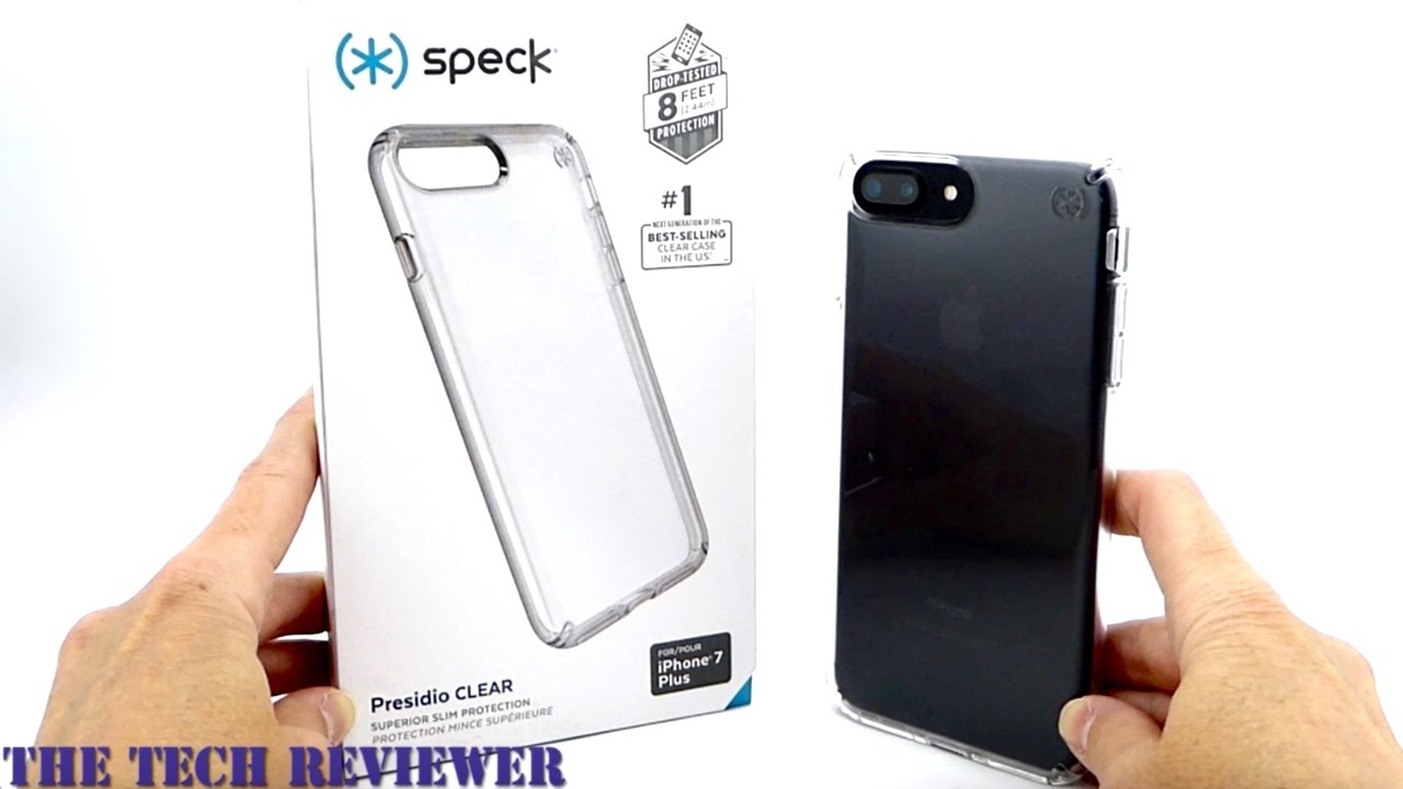 reputable site df47c 3d08b Show off your new iPhone 7 Plus with the Speck Presidio Clear!