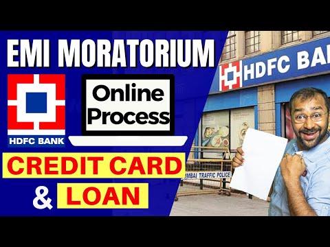 🔵hdfc-emi-moratorium- -credit-card-&-loan- -tutorial-hindi