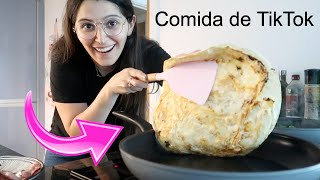 COMIDA DE TIKTOK Y SUPERMERCADO  Caro Trippar Vlogs