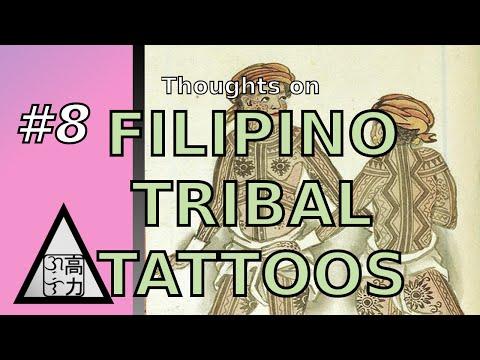 Filipino Tribal Tattoos - Agos the Flow #8