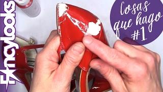 Arreglando zapatos de charol descascarillados (Cosas que hago #1)