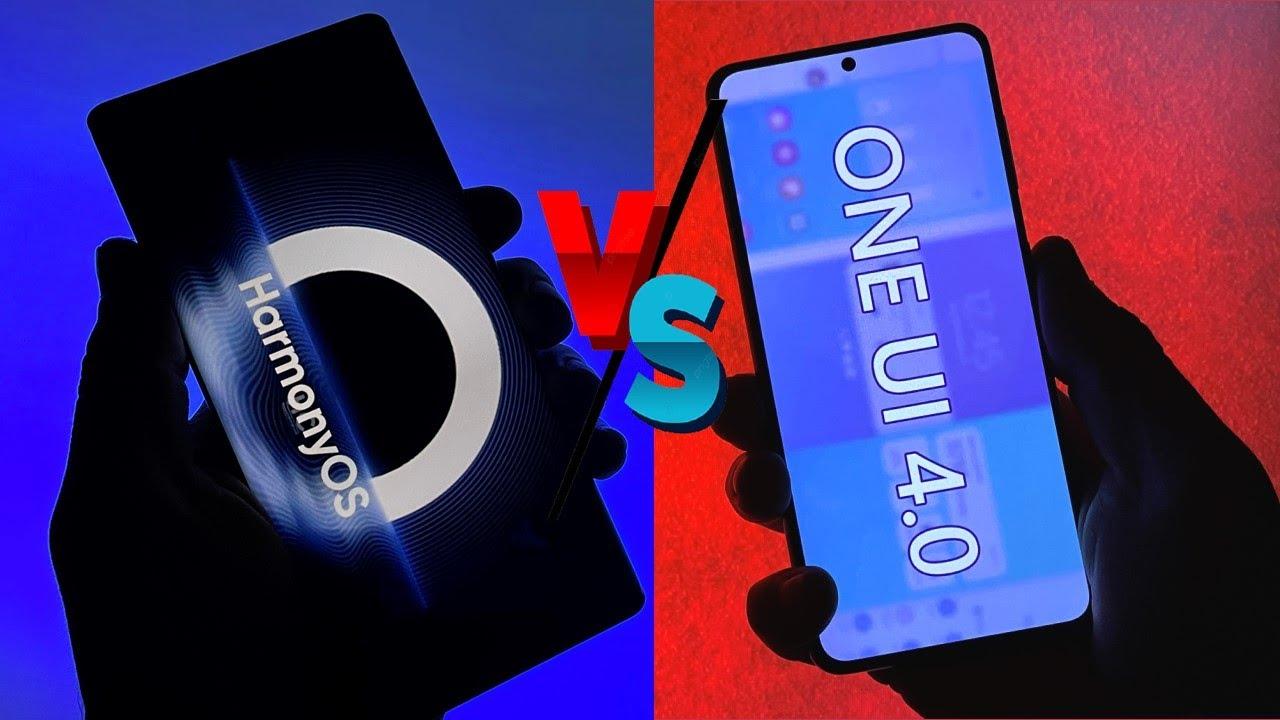 Harmony OS VS One Ui 4 - Animations Comparison!