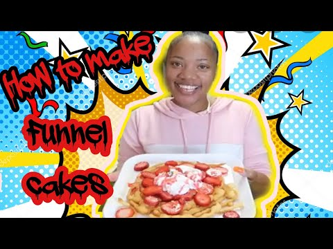 How to make Funnel Cakes thumbnail