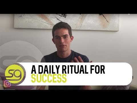 How To Create A Daily Ritual For Success