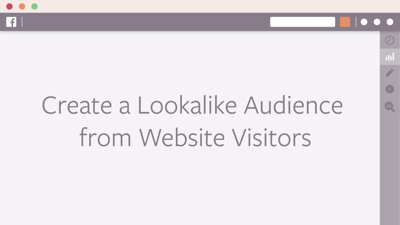 How to Create a Lookalike Audience based on Website Visits in Facebook Ads Manager