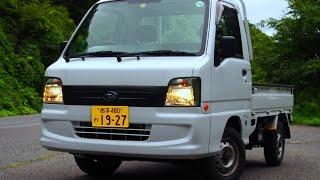 【4気筒】スバルサンバートラック レビュー Japanese mini truck Subaru Samber thumbnail