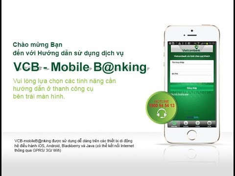Hướng Dẫn Sử Dụng Ứng Dụng Vietcombank| Cách Chuyển Tiền Vietcombank Bằng Điện Thoại