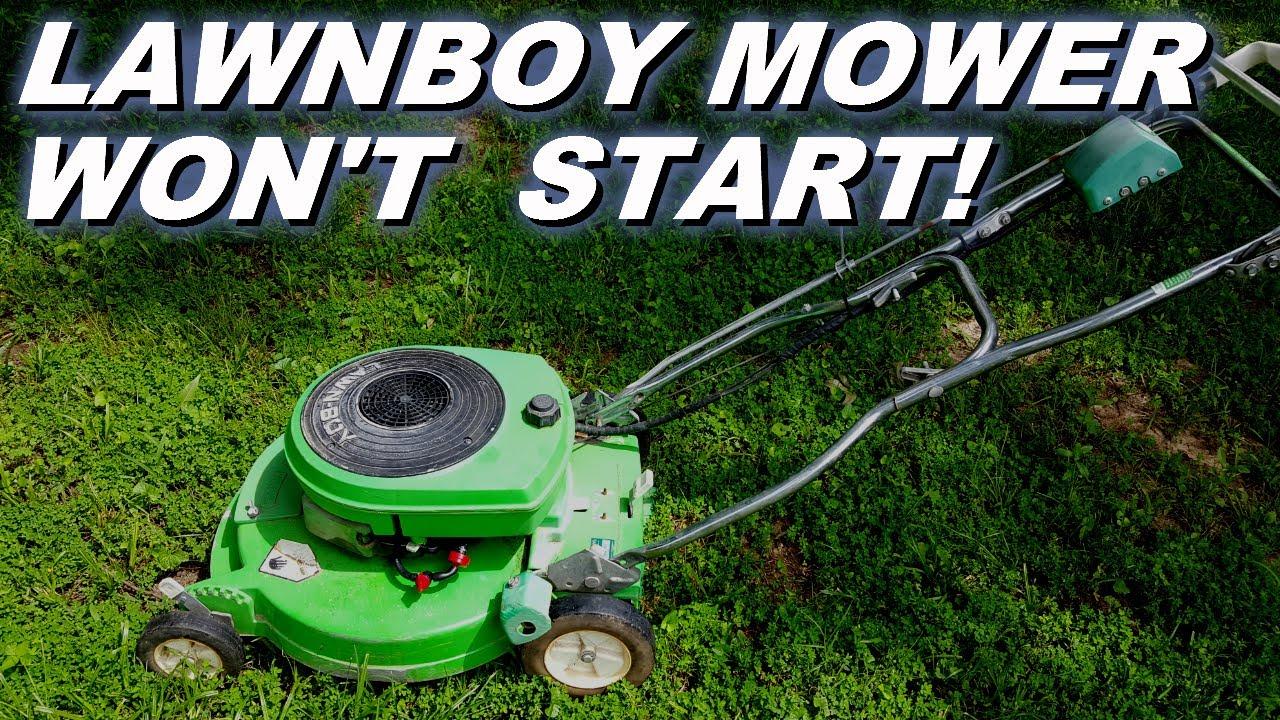 Lawnboy 2cycle Lawnmower Won T Start