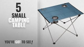 5b8aa9e2c51 Top 5 Small Camping Table  2018   Trekology Foldable Camping Picnic Tables  - Portable ...
