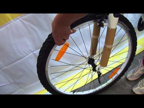 Установка переднего колеса на новый велосипед Haibike из коробки