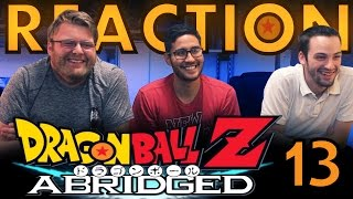 TFS DragonBall Z Abridged REACTION!! Episode 13