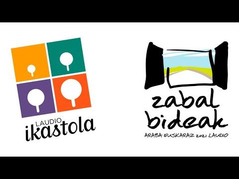 Araba Euskaraz 2021 Zabal bideak BIDEOKLIPA
