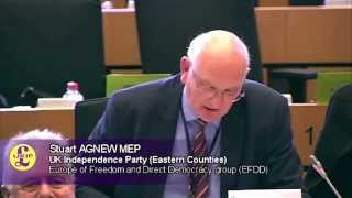 Farming industry mired in EU legislation - Stuart Agnew MEP