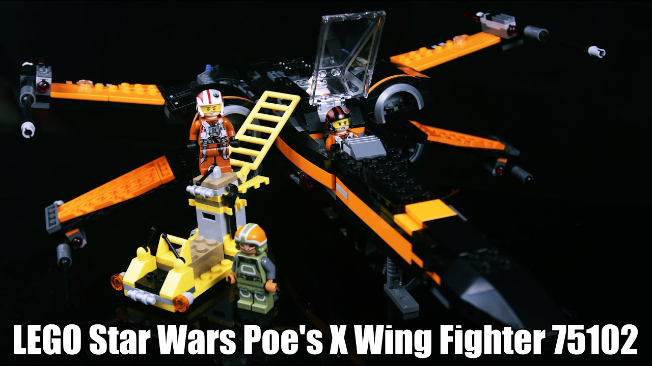 Lego star wars poe s x wing fighter review 75102 youtube - Lego Star Wars Poe S X Wing Fighter Review 75102