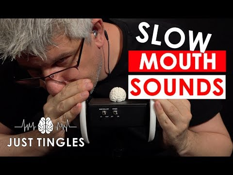 ASMR | Slow Ear Eating | Slow Mouth Sounds | NO TALKING | 1 Hour
