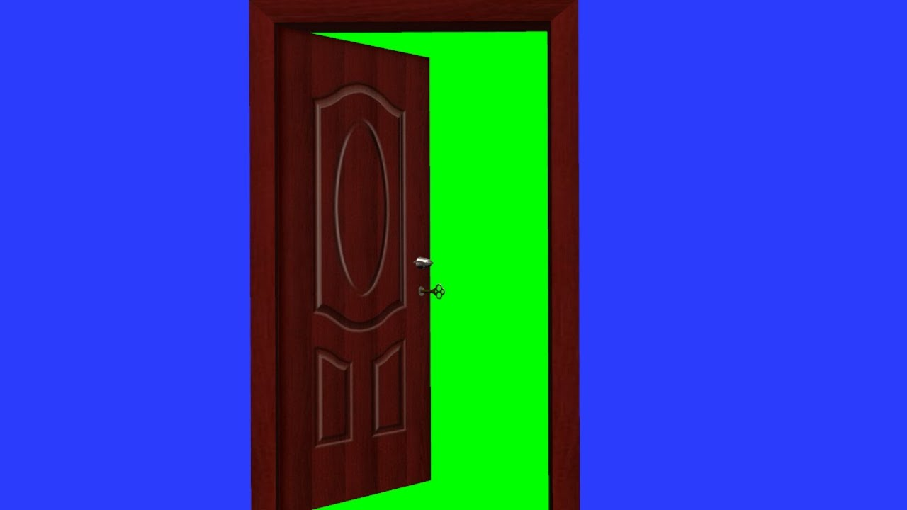 sc 1 st  YouTube & door opens and closes (with key) - green screen effect - YouTube pezcame.com