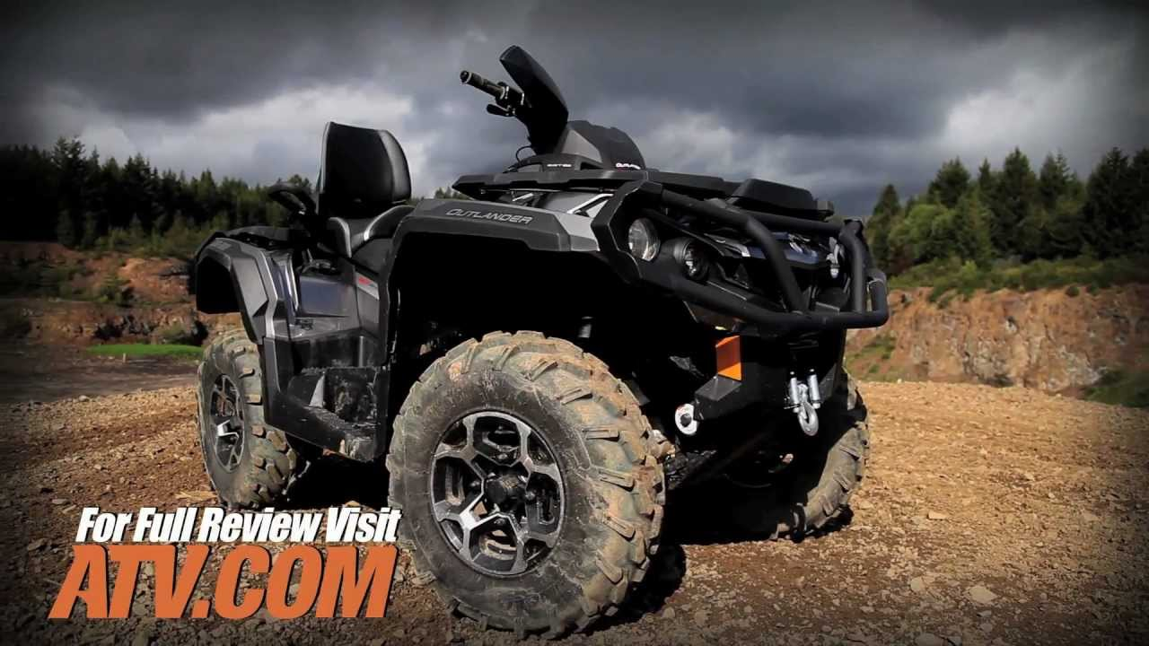 2013 can am outlander max 1000 atv review youtube. Black Bedroom Furniture Sets. Home Design Ideas