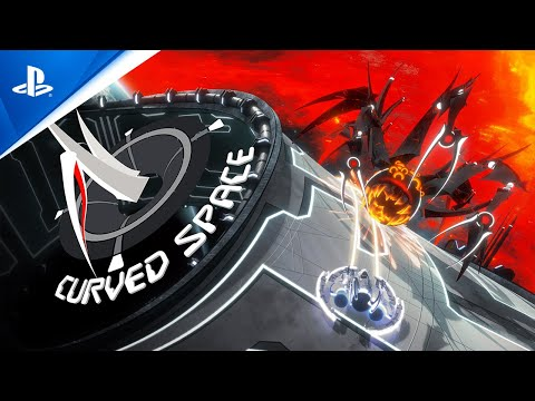 Curved Space - Announcement Trailer   PS4, PS5