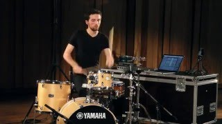 Talir for percussion and choreography by Simon ALIOTTI