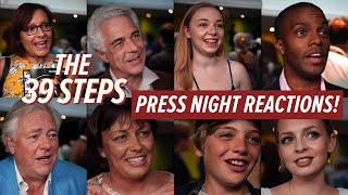 The 39 Steps: Press Night Reactions | #Barn39Steps