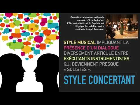 Style concertant
