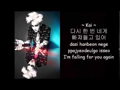 EXO - Run - Korean Version (Han/Rom/Eng) Photo and Color Coded Lyrics
