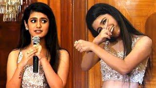 Priya Varrier Performs Her Signature Move | Oru Adaar Love