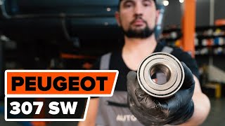 Jak vyměnit Lozisko kola на PEUGEOT 307 SW (3H) - online zdarma video