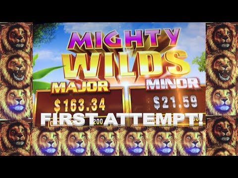 Mighty Wilds - Ainsworth Slot Live Play