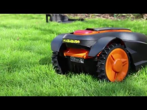 0 - Worx Landroid Rasen-Mähroboter