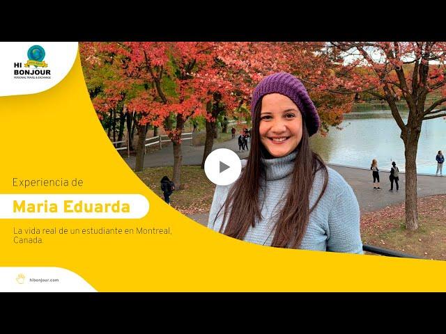 La vida real de un estudiante en Montreal, Canada - Parte 1