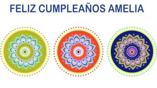 Amelia   Indian Designs - Happy Birthday