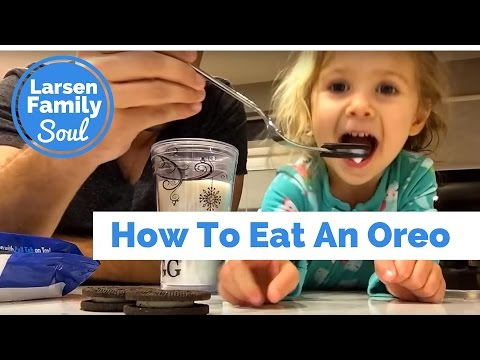 How To Eat An Oreo with a Toddler | Larsen Family Soul