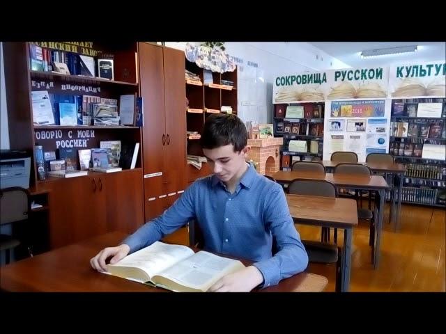 Изображение предпросмотра прочтения – АртемАфанасьев читает произведение «Стихотворение в прозе Воробей» И.С.Тургенева