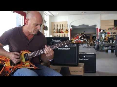 Dean Guitars - Geoff Sinker checkout the Dime Razorback