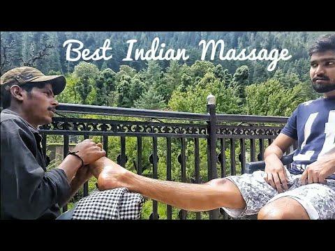 Best Indian Massage- Leg & Foot Massage by Ravi | Part-1 | ASMR
