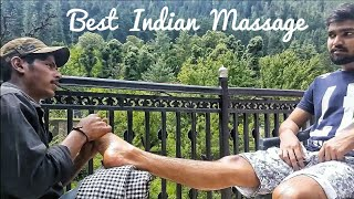 Best Indian Massage- Leg & Foot Massage by Ravi | Part-1 | ASMR