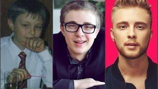 Егор Крид в детстве,в юности и сейчас