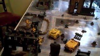 Imperial Fists vs Dark Eldar Warhammer 40k Battle Report 1500pts